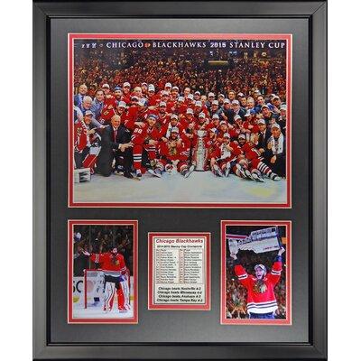 NHL Chicago Blackhawks 2015 Stanley Cup Champions Framed Memorabilia 19960U