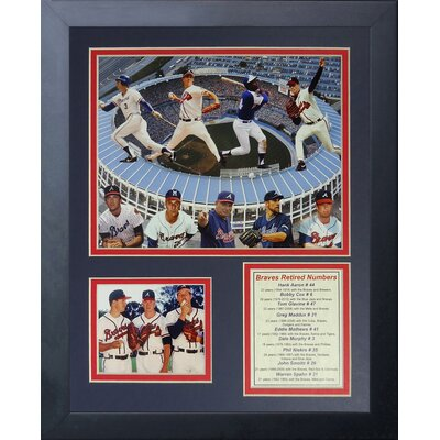 Atlanta Braves Greats Framed Memorabilia 11176U