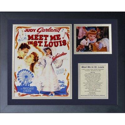 Meet Me in St. Louis Framed Memorabilia 16040U