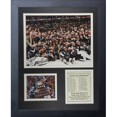 Los Angeles Kings 2014 Stanley Cup Champions Framed Memorabilia 12663U