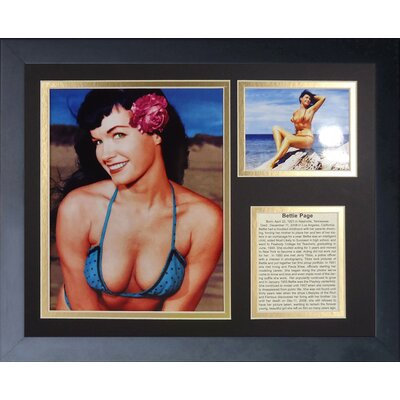 Bettie Page Framed Photographic Print 16301U