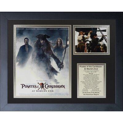 Pirates of the Caribbean: At World's End Framed Memorabilia 16159U
