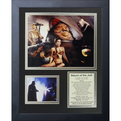 Star Wars: Return of the Jedi Action Framed Memorabilia 16215U