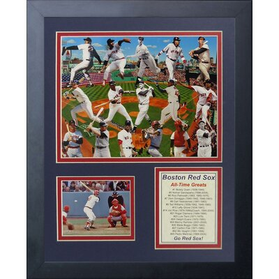 Boston Red Sox Greats Framed Memorabilia 11303U