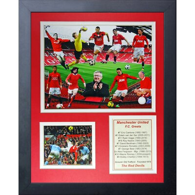 Manchester United FC Greats Framed Memorabilia 13051U