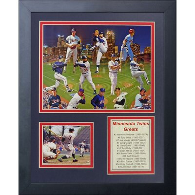 Minnesota Twins Greats Framed Memorabilia 11353U