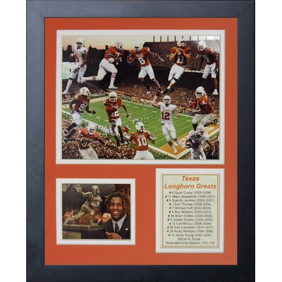 Texas Longhorn Greats Framed Memorabilia 12220U