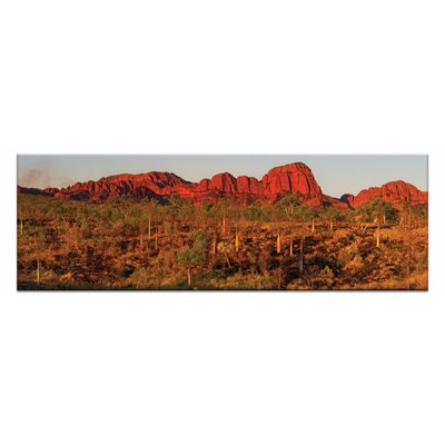 Afterburn By Andrew By Andrew Brown Framed Photographic Print On Wrapped Canvas
