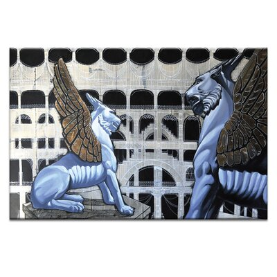The Guards by Olena Kosenko Painting Print on Wrapped Canvas