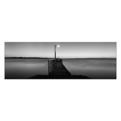 Afterglow By Andrew Brown Framed Photographic Print On Wrapped Canvas In Gray