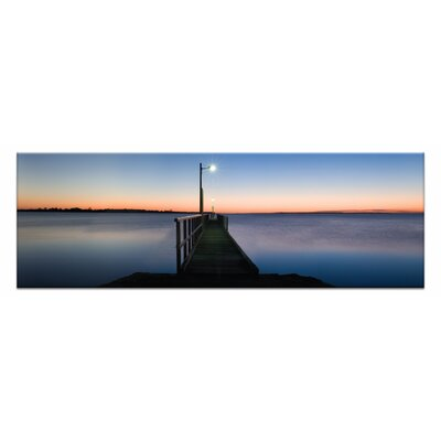 Afterglow By Andrew Brown Framed Photographic Print On Wrapped Canvas