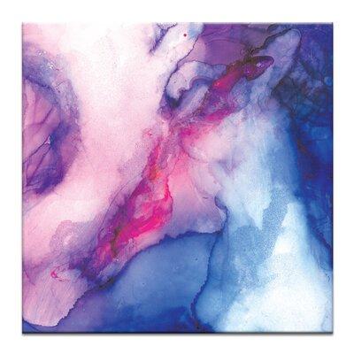 'Eye vs Edge' Acrylic Painting Print on Wrapped Canvas