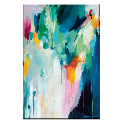 'Eucalyptus' Acrylic Painting Print on Canvas Size: 30