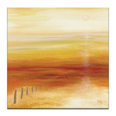 'Outback Sunrise' Print on Canvas Size: 16