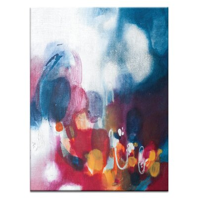 '120515' Acrylic Painting Print on Canvas Size: 20