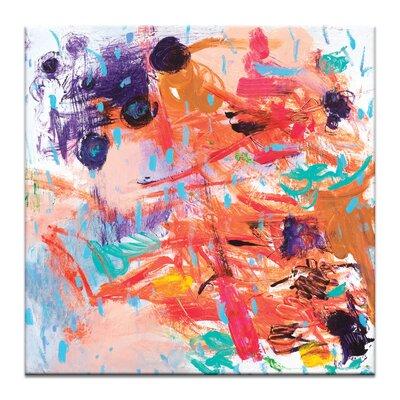 'Rain Garden' Print on Canvas Size: 16