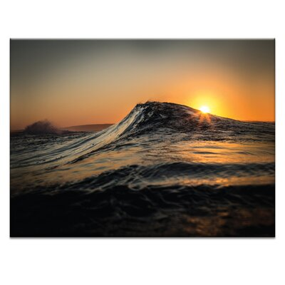 'Sunrise' Photographic Print on Wrapped Canvas Size: 16