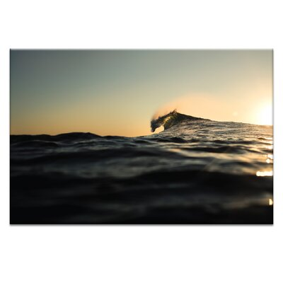 'Shape of Water' Photographic Print on Wrapped Canvas Size: 20