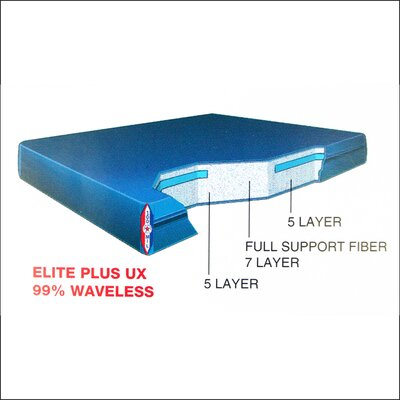 Dreamweaver Elite Plus 9 Ux Waterbed Mattress Size: Queen