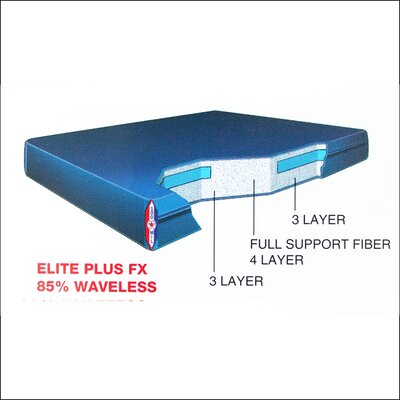 Dreamweaver Elite Plus 9 Fx Waterbed Mattress Size: Queen