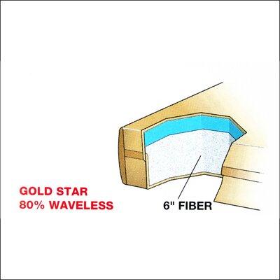 Dreamweaver The Ultimate 9 Gold Star Waterbed Mattress Size: Super Single