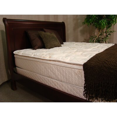 Egret 12 Feather Edge Flotation Matress Size: Queen