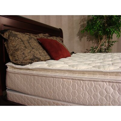 Phoenix 10 Softside Feather Edge Flotation Mattress Size: Queen