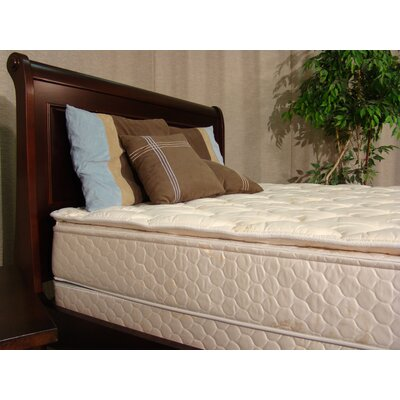 Swan 11 Pillow Top Feather Edge Flotation Mattress Size: California King