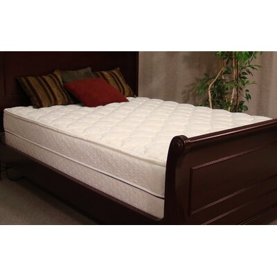 Dove 8 Softside Feather Edge Flotation Mattress Size: California King