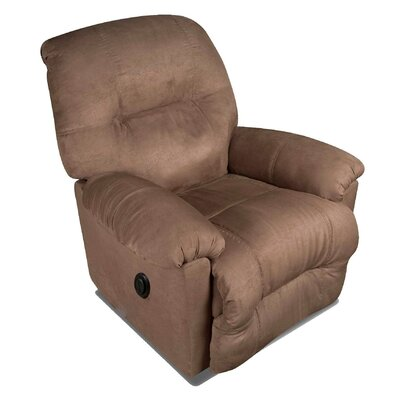 Austin Rocker Recliner Type: Manual, Upholstery: Chocolate