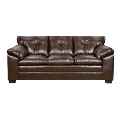 Pilsen Sofa Upholstery: Brown