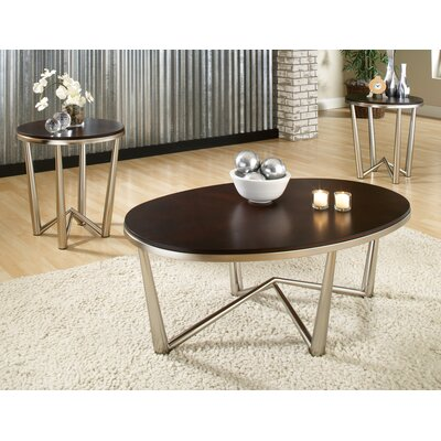 Bucktown 3 Piece Coffee Table Set