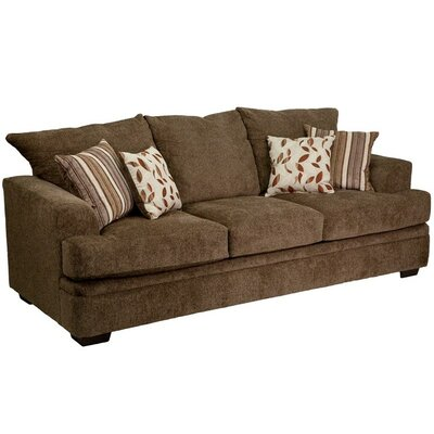 Main Sofa Upholstery: Brown
