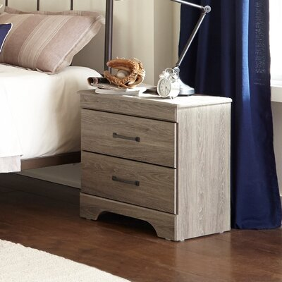 Logansport 2 Drawer Nightstand