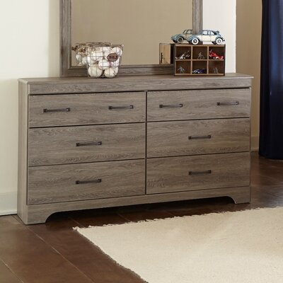 Logansport 6 Drawer Dresser