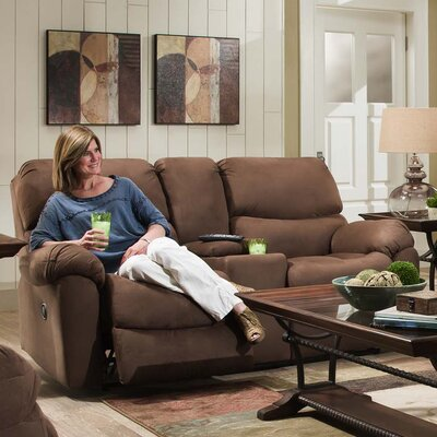 210 03 94 NSDM1615 Brady Furniture Industries Lemont Reclining Loveseat