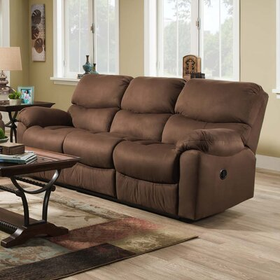 210 03 88 NSDM1614 Brady Furniture Industries Lemont Reclining Sofa