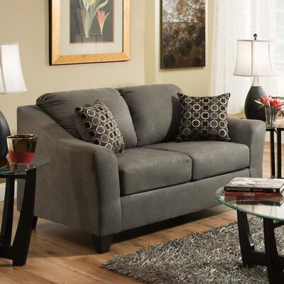 206 00 35 NSDM1606 Brady Furniture Industries Alex Loveseat