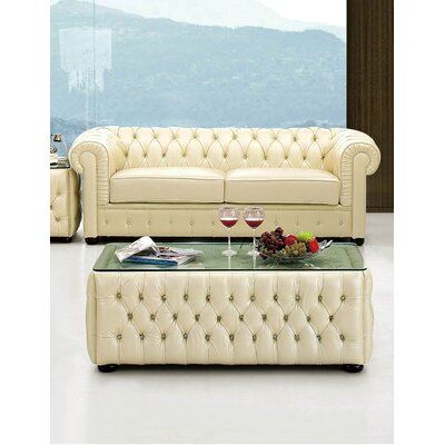 Keomi Leather Sofa
