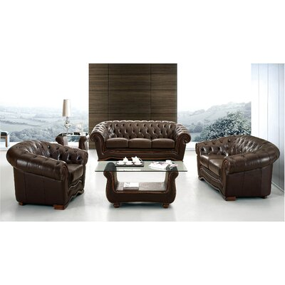 Barkell Leather Living Room Collection