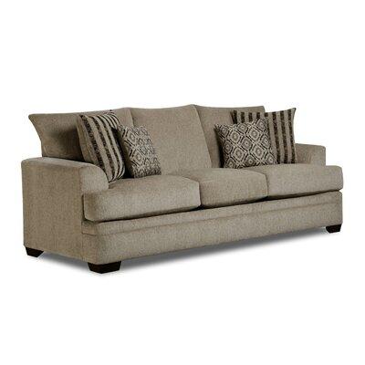 Main Sofa Upholstery: Titanium
