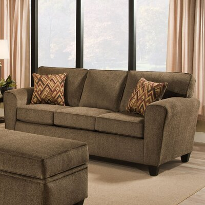 Pulaski Sofa Finish: Brown