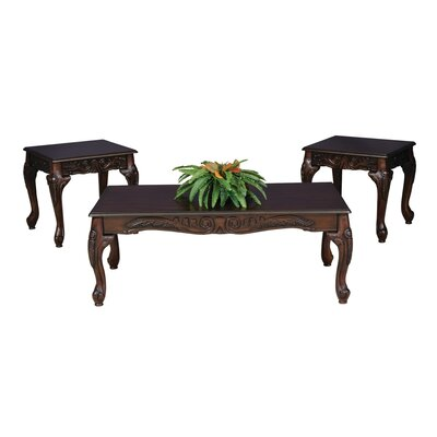 Elaborate 3 Piece Coffee Table Set