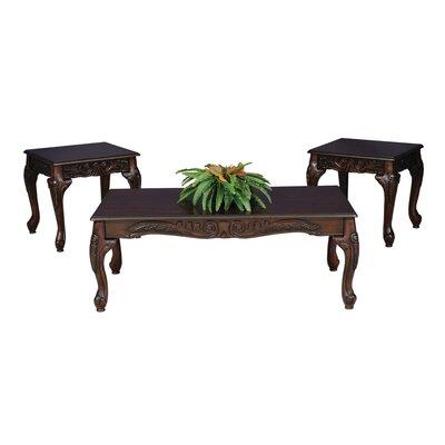 Elaborate 3 Piece Coffee Table Set