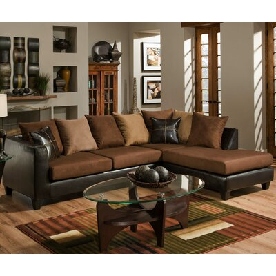 Brunswick Sectional Color: Chocolate