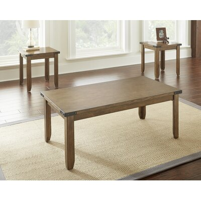 Charmaine 3 Piece Coffee Table Set