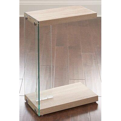 Chaunie End Table Color: Oak