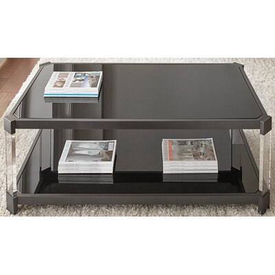 Alli Tinted Coffee Table with Casters