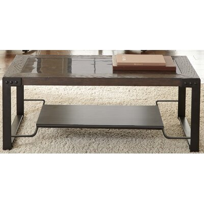 Jasminder Coffee Table with Casters
