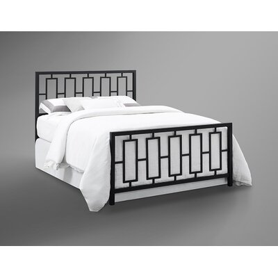 Trafton Panel Bed Size: King
